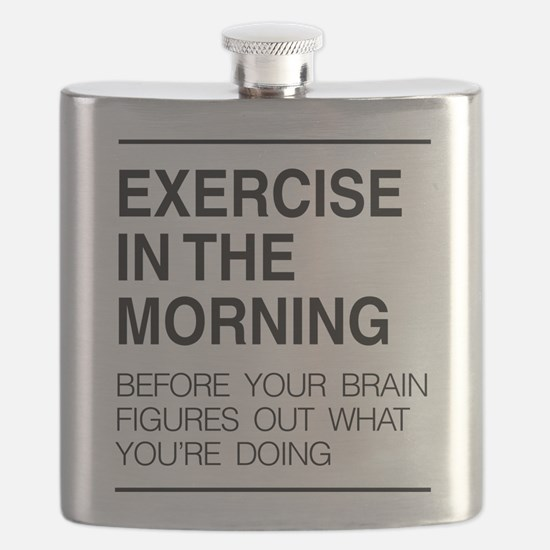 Exercise in the morning Flask
