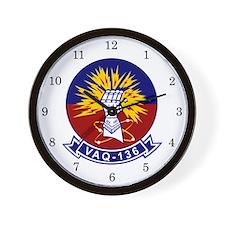 VAQ-136 Gauntlets Wall Clock