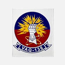 Vaq-136 Gauntlets Throw Blanket