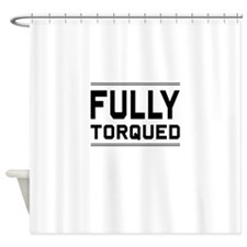 Fully Torqued Shower Curtain
