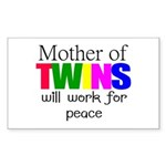 Mother of twins Sticker