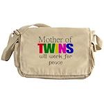 Mother of twins Messenger Bag