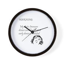 Unique Bowel Wall Clock