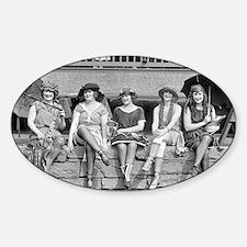 Beach Costume Contest, 1921 Decal