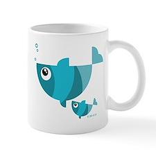 Blue fishes (2) Mugs
