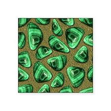 "Green Piece Square Sticker 3"" x 3"""
