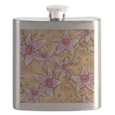 Flowers pieces Flask