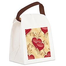 Love Piece Canvas Lunch Bag