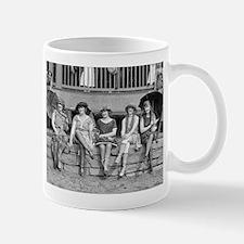 Beach Costume Contest, 1921 Mugs