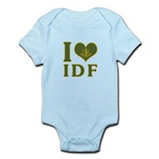 I Love IDF - Israel Defense Forces Body Suit