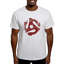 45 RPM Insert - very distressed T-Shirt