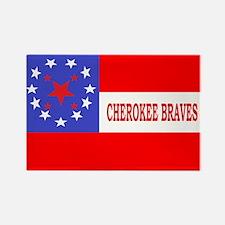 Cherokee Rifles Rectangle Magnet