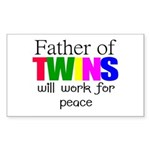 Father of twins Sticker