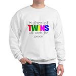 Father of twins Sweatshirt