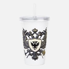 Doucette Family Crest Acrylic Double-wall Tumbler