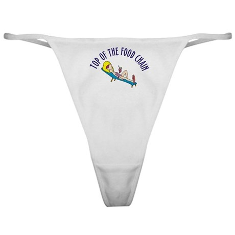 Top of food chain Classic Thong