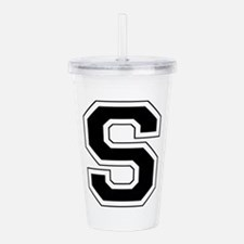 Collegiate Monogram S Acrylic Double-wall Tumbler