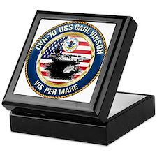 CVN-70 USS Carl Vinson Keepsake Box