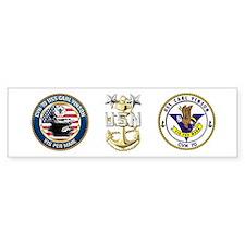 CVN-70 USS Carl Vinson Bumper Sticker