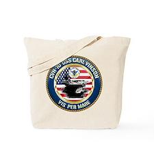 CVN-70 USS Carl Vinson Tote Bag