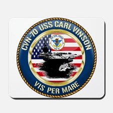 CVN-70 USS Carl Vinson Mousepad