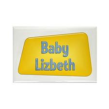 Baby Lizbeth Rectangle Magnet