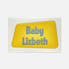 Baby Lizbeth Rectangle Magnet