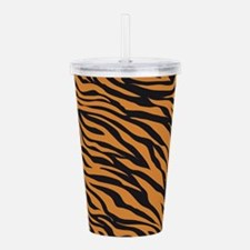 Tiger Animal Print Acrylic Double-wall Tumbler