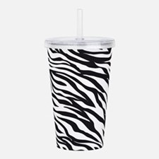 Zebra Animal Print Acrylic Double-wall Tumbler