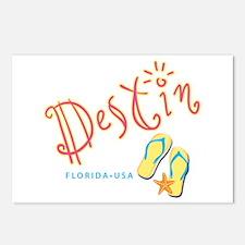 Destin - Postcards (Package of 8)