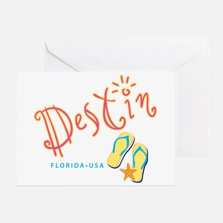 Destin - Greeting Card