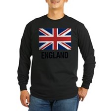 I Heart England Long Sleeve T-Shirt