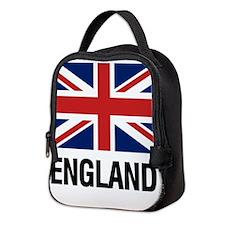 Cute British flag Neoprene Lunch Bag