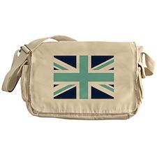Cute Kids british flag Messenger Bag