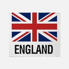 Cute Great britain Throw Blanket