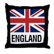 Funny England Throw Pillow