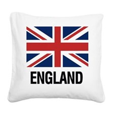 Cute England Square Canvas Pillow