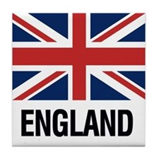 Cute British flags Tile Coaster