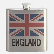 Cute British flag Flask