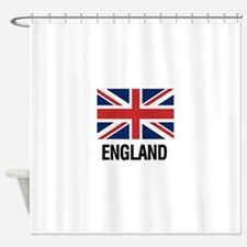 Unique England Shower Curtain
