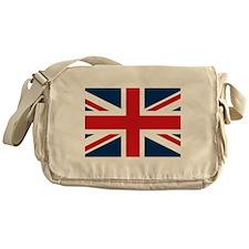 Funny Kids british flag Messenger Bag