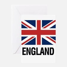 I Heart England Greeting Cards