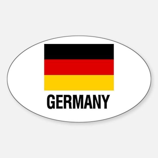 I Heart Germany Decal