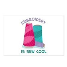 Embroidery Is Sew Cool Postcards (Package of 8)
