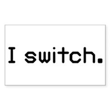 I switch Rectangle Sticker