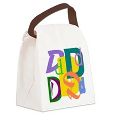 Initial Design (D) Canvas Lunch Bag