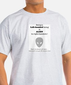 Alien Ash Grey T-Shirt