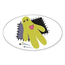 Voodoo Doll Decal