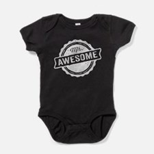 Mr. Awesome Baby Bodysuit