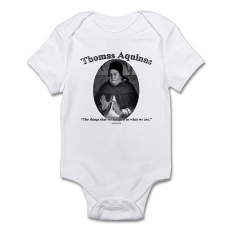 Thomas Aquinas 04 Infant Bodysuit